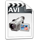 video,avi icon