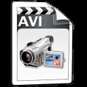 video,avi icon