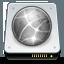 drive, offline, network icon