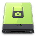 ipod, green icon