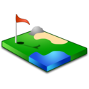 golf,sport,green icon