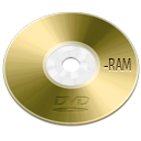 dvd, ram, |, optical, device icon