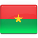 country, flag, faso, burkina icon