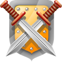 And, Shield, Swords icon