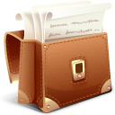 Briefcase, Lawyer icon