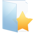 Folder Blue Fav Alt icon
