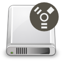 Devices harddisk firewire icon