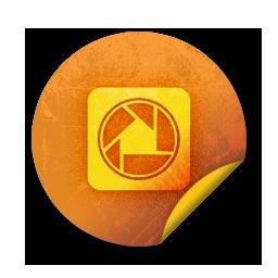 logo, square, picasa icon