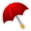 Rain, Umbrella icon