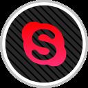skype, media, social, online icon