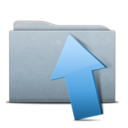 folder,graphite,upload icon