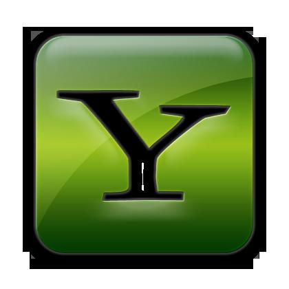 logo, yahoo, square icon