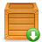 crate, download icon