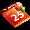 calendar, schedule, christmas, date icon