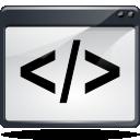 media, script icon