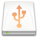usb, drive, media, removable icon