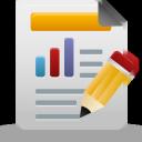 reports, custom icon