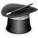hat, startup, magic, wizard, installation, setup, install, assitent icon
