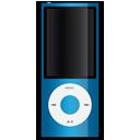 Apple, Blue, Ipod icon