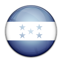 honduras, flag, country icon