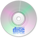 cd, disc, audio icon