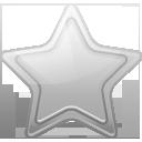 star, silver, bookmark, favorite icon