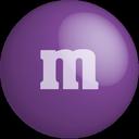 color, m&m, purple, chocolate, colour icon