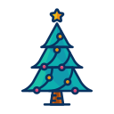 tree, celebrate, decoration, decorate, christmas icon