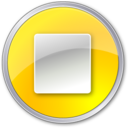stop,normalyellow,button icon
