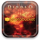 photobucket, diablo icon