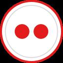 logo, social, brand, flickr, media icon