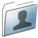user,folder,graphite icon