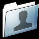 user,folder,graphite icon