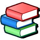 Bookcase, Books, School icon