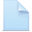 document, file, paper, new document icon