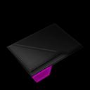 Empty, Folder, Purple icon