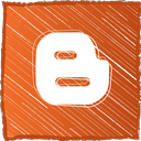 blogger, blogspot icon