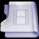 purple,movie,book icon