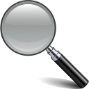 find, search, glass, magnifying icon
