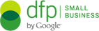 dfp, business, logo icon