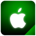 apple,logo,glow icon