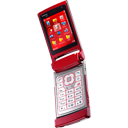 n, Red icon