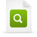 file, green, paper, document icon