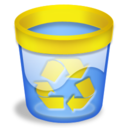 papelera,vacia,recycle icon