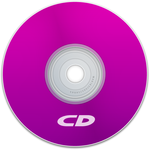 cd, save, purple, disc, disk, dvd icon