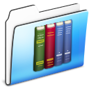 library,folder,smooth icon