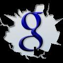 Google, texto, Inside icon