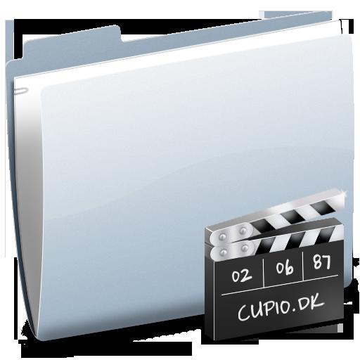 folder, video, movie, film icon