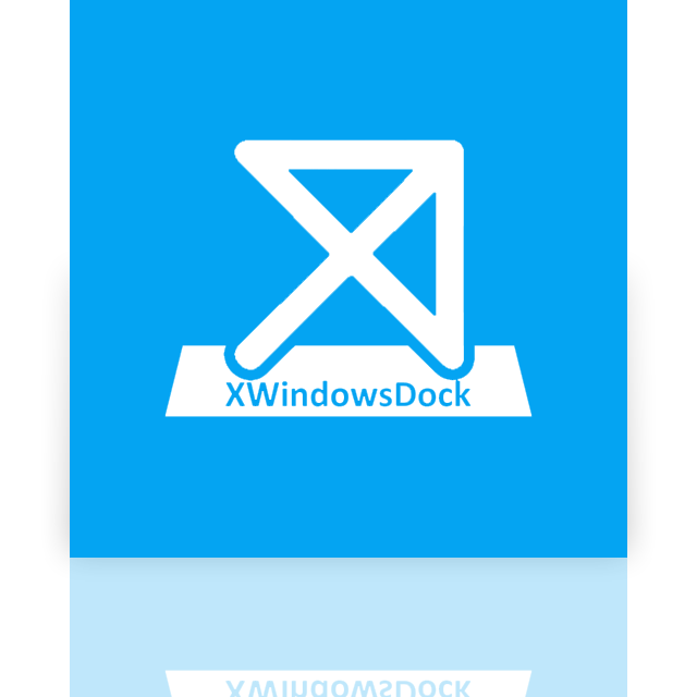 dock, mirror, xwindows icon