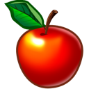 fruit, food, apple icon